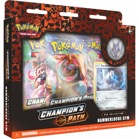 Champion's Path November Pin Collection: Hammerlocke Gym - Pokémon TCG
