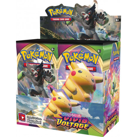 Vivid Voltage Boosterbox - Pokémon TCG