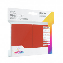 Gamegenic Sleeves - Prime Red (100)