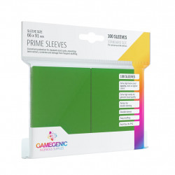 Gamegenic Sleeves - Prime Green (100)