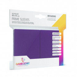 Gamegenic Sleeves - Prime Purple (100)