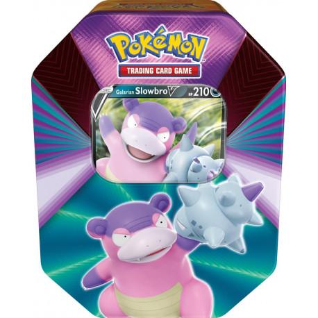 Spring V Tin Galarian Slowbro - Pokémon TCG