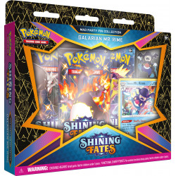 Shining Fates Mr. Rime Mad Party Pin Collection - Pokémon TCG