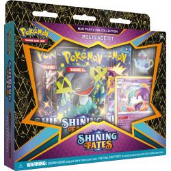 Shining Fates Polteageist Mad Party Pin Collection - Pokémon TCG