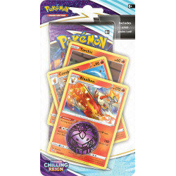 Chilling Reign Blaziken Premium Checklane Blister - Pokémon TCG