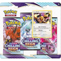 Chilling Reign Eevee 3-Booster Blister - Pokémon TCG