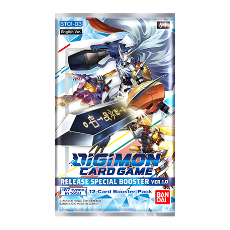 Release Special Booster 1.0 - Digimon TCG