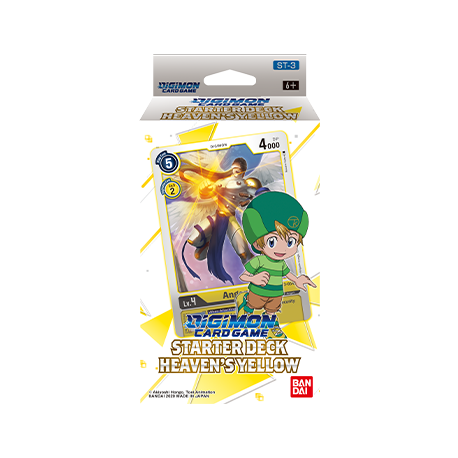 Heaven's Yellow Starter Deck - Digimon TCG