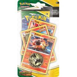 Evolving Skies Emboar Premium Checklane Blister - Pokémon TCG